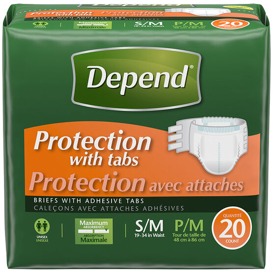 Depend Fitted - Maximum Protection - Medium - 20's