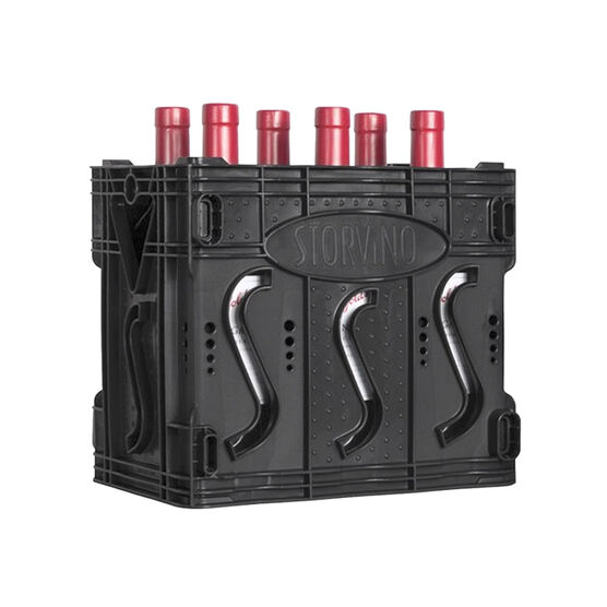 Storvino 6 Bottle Wine Rack/Carrier