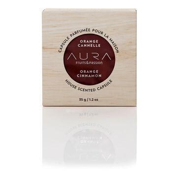Fruit & Passion Aura House Scented Wax Capsule - Orange Cinnamon