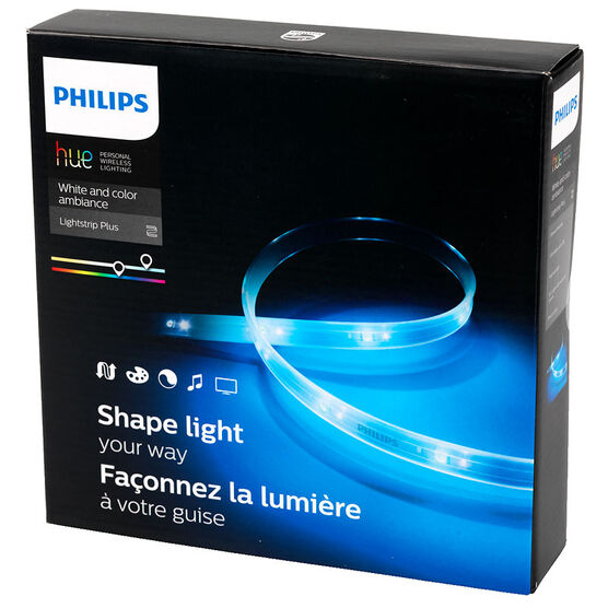 philips hue lightstrip plus london drugs. Black Bedroom Furniture Sets. Home Design Ideas