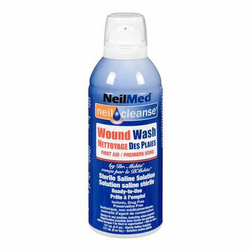 NeilMed Dr. Mehta's Wound Wash Saline Spray – 177ml