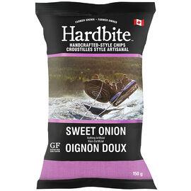 Hardbite Potato Chips - Sweet Onion - 150g