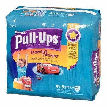 Pull Ups Training Pants - Boys - Size 4-5 - 32's