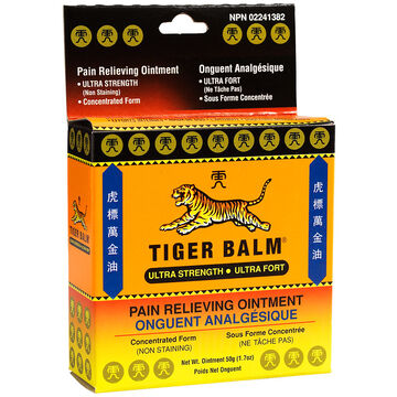 Tiger Balm Ultra Strength Pain Relieving Ointment - 50g
