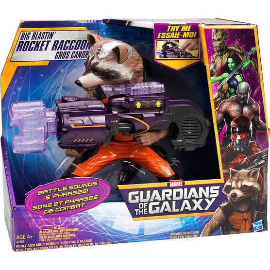 Marvel Guardians of the Galaxy Big Blastin' Rocket Raccoon Figure