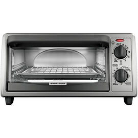 Black & Decker 4 Slice Toaster Oven - TO1322SBD