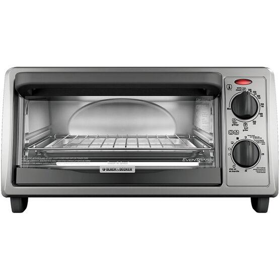 Black Amp Decker 4 Slice Toaster Oven
