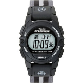 Timex Expedition Chrono Alarm Timer - Black/Grey - 49661