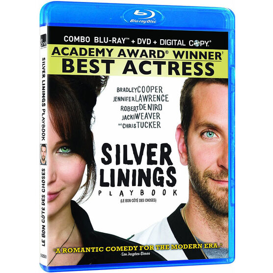 Silver Linings Playbook - Blu-ray + DVD + Digital Copy