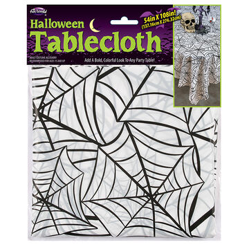 Halloween Tablecloth - 108 x 54 in - Assorted