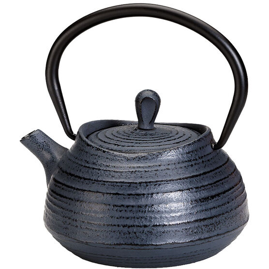 London Home Cast Iron Teapot - Dark Grey - 400ml