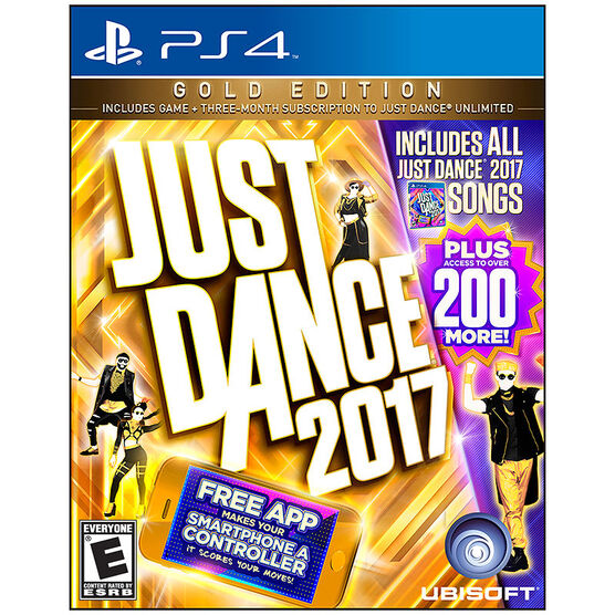 PS4 Just Dance 2017 Gold Edition