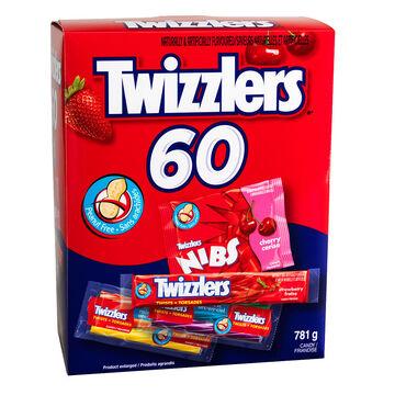 Twizzlers & Nibs Assortment - 60's