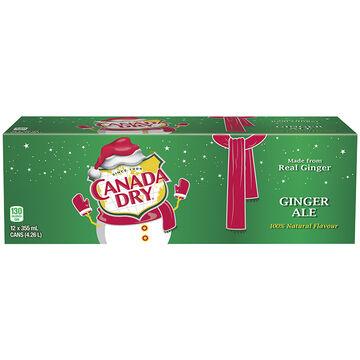 Canada Dry Ginger Ale - Fridge Mate - 12 pack