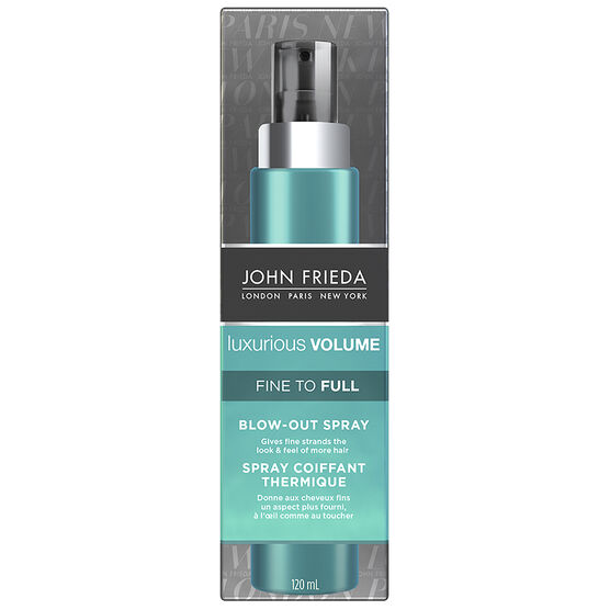 John Frieda Luxurious Volume Fine to Full Blow-Out Spray - 120ml