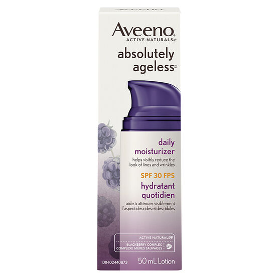 Aveeno Active Naturals Absolutely Ageless Moisturizer - SPF 30 - 50ml