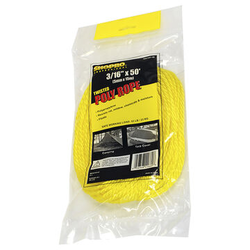 Shopro Twisted Poly Rope - 5mm x 15m