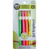 Onyx Green Gel Highlighter - 4 pack