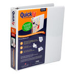 Quick Fit Binder - White - 1.5inch