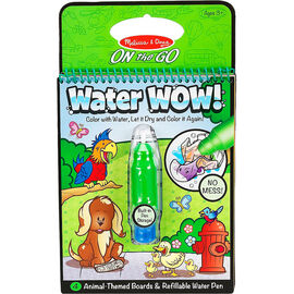 Melissa & Doug On the Go Water WOW! Activity Book - Animals - 5376