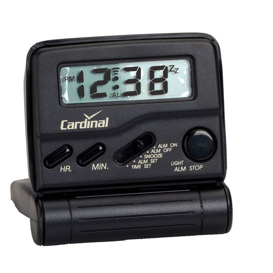 Cardinal Bluelight Travel Alarm Clock