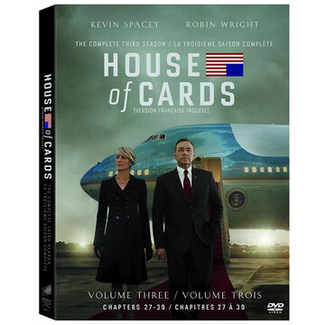 House of Cards: The Complete Third Season - DVD