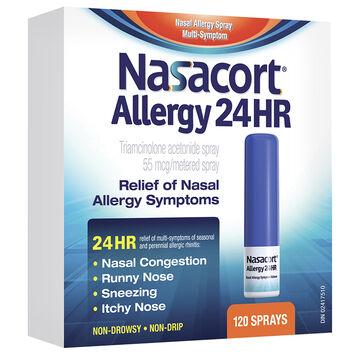 Nasacort Allergy 24HR Nasal Spray - 120 Doses