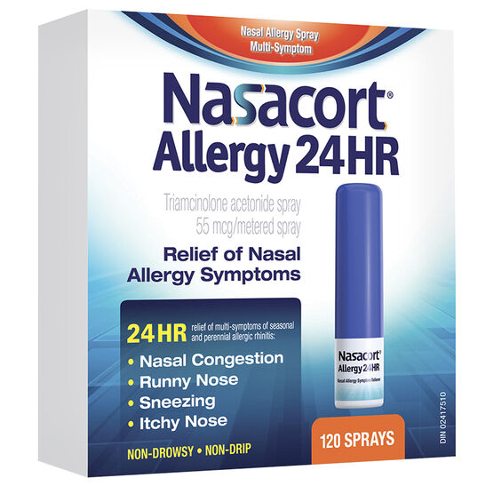 Nasacort Allergy 24HR Nasal Spray - 120 Doses