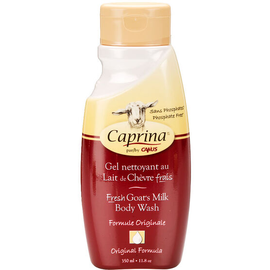 Caprina by Canus Fresh Goat's Milk Body Wash - Original - 350ml