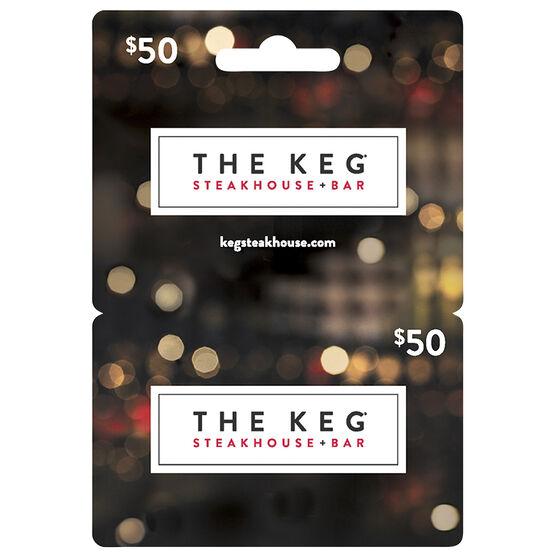 Keg Gift Card - $50