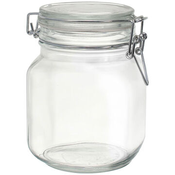Hermetic Glass Jar - 1 litre