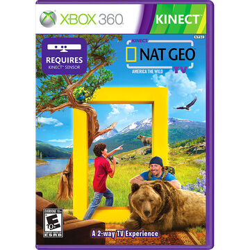 Xbox 360 Kinect National Geographic