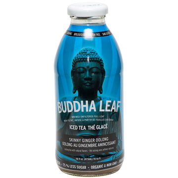 Buddha Leaf Icead Tea - Skinny Ginger Oolong - 473ml