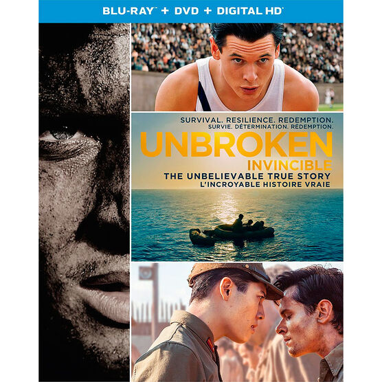 Unbroken - Blu-ray + DVD + Digital HD