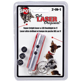 2 in 1 Laser Toy Exerciser - Assorted