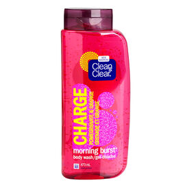 Clean & Clear Morning Burst Body Wash - Pomegranate & Orange - 473ml
