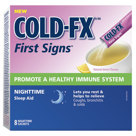 Cold-FX First Signs Nighttime - 8's