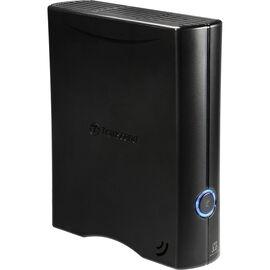 Transcend 4TB StoreJet USB 3.0 - External Desktop Hard Drive - Black - TS4TSJ35T3