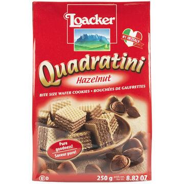 Loacker Quadratini - Hazelnut/Neapolitan - 250g