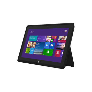 Incipio Feather Ultra Thin Snap-On Case for Microsoft Surface Pro/Pro 2 - Black - MRSF-049