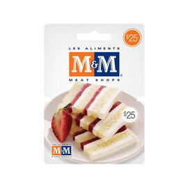 M&M Meats Gift Card - $25