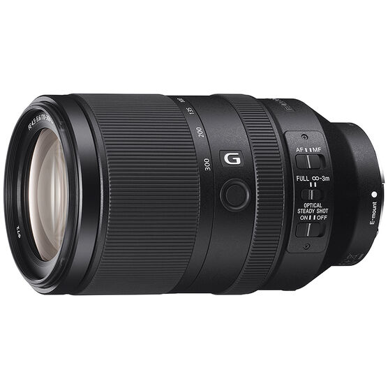 Sony FE 70-300mm F4.5-5.6 G OSS Full-frame E-mount Telephoto Lens - SEL70300G