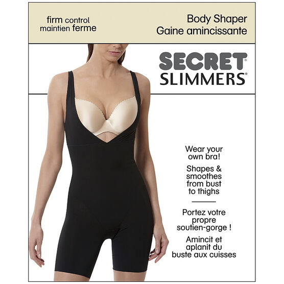 Secret Slimmers Body Shaper - C - Black