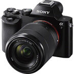Sony a7 Full-Frame Mirrorless Camera with 28-70mm Lens - Black - ILCE7KB