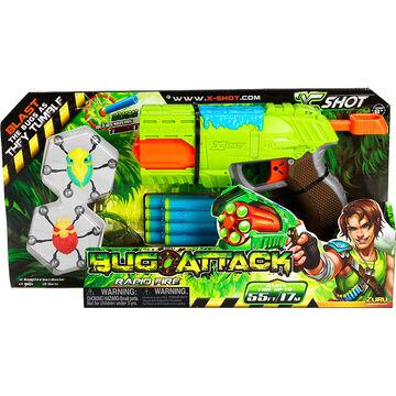 X-Shot Bug Attack Rapid Fire Dart Blaster