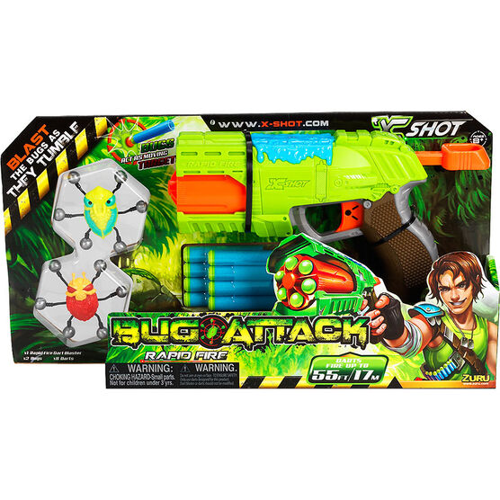 X-Shot Bug Attack Rapid Fire Dart Blaster
