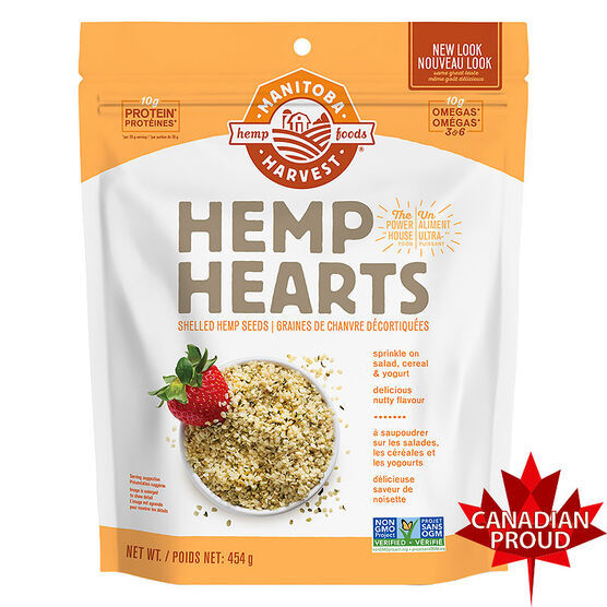 Manitoba Harvest Hemp Hearts - Natural - 454g