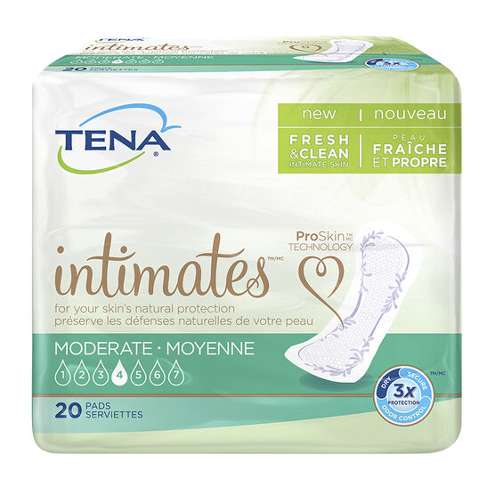 Tena Pads - Moderate Regular - 20's