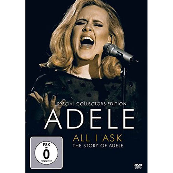 Adele - All I Ask: The Story of Adele - DVD