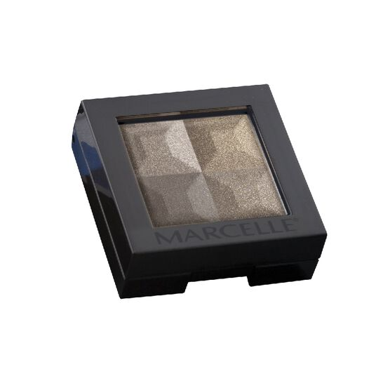 Marcelle Eyeshadow Quad - Coffee Beans